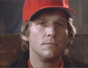 Jeff Bridges in Starman: A keen observer of the human condition.